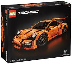 Porsche 911 Orange - amazon com lego technic porsche 911 gt3 rs toys u0026 games