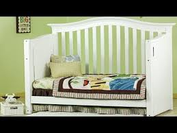 How To Convert Crib To Bed On Me Electronic Crib Ii Baby Crib Set Converts To A