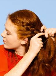 layer hair with ponytail at crown 236 best ponytails braids buns images on pinterest plaited buns