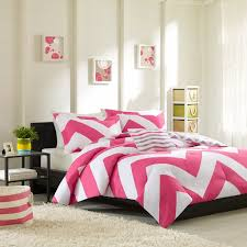 Black And White And Pink Bedroom Amazon Com Mi Zone Libra Comforter Set Full Queen Pink Home