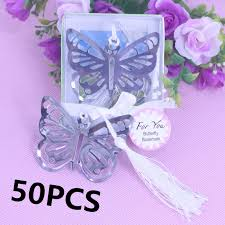 communion favors wholesale 50pcs butterfly bookmark favors for holy communion girl baby shower
