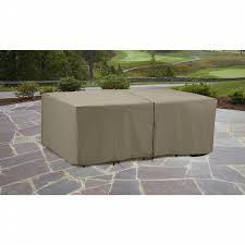 Patio Dining Set Cover Garden Oasis Rectangle Patio Furniture Set Cover Shop Your Way