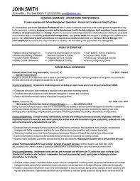 general resumes samples career center general resume sample