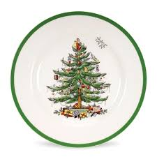 spode tree set of 4 dinner plates spode usa