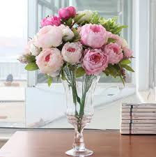 bulk peonies 2018 peony beautiful flower home decoration made artificial