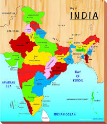 Map Of India And Nepal by Buy Kinder Creative India Map Brown Online At Low Prices In India