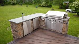deck ideas endearing 95 cool outdoor kitchen designs digsdigs in deck ideas