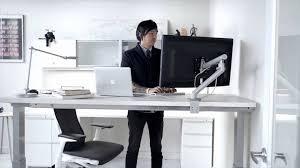 Chairs For Standing Desks Renew Standing Desk Herman Miller