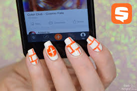 simply nailogical nail art inspired by the snupps app never buy