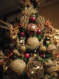 picture of brown christmas tree 30 best gold christmas decoration ideas