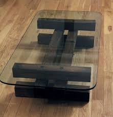 glass coffee table with wood base top coffee table irregular wood and glass river for tables ideas the