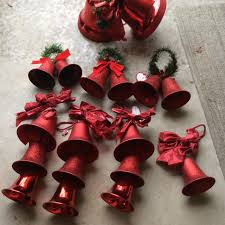 find more hanging red plastic christmas bell decorations see