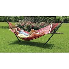 bungalow rose powell point cotton hammock with stand u0026 reviews