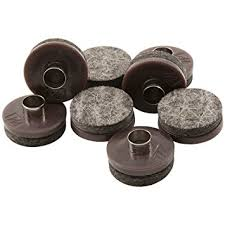 Wheels For Chair Legs Nail On Heavy Duty Felt Pads For Wood Furniture And Hard Floor