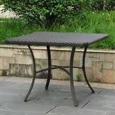 square outdoor dining table square outdoor dining tables for less overstock com