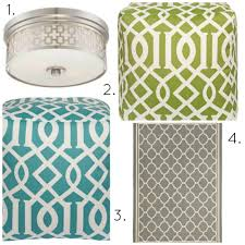 Green Trellis Rug Decorating With The Trellis Pattern Lamps Plus