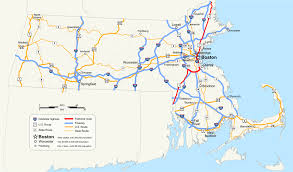 Boston Logan Airport Map U S Route 1 In Massachusetts Wikipedia