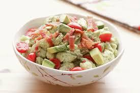 bacon avocado tomato pasta salad barefeetinthekitchen com