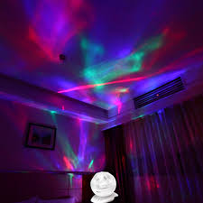 Rotating Night Light Projector Soaiy Aurora Borealis Night Light With Timer Dimmer Speaker 8