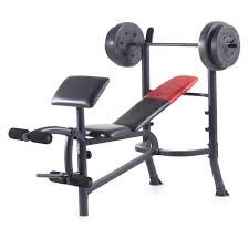 Marcy Diamond Bench Marcy Diamond Weight Bench With 100 Lb Weight Set Hayneedle
