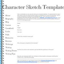 character profile templates pearltrees