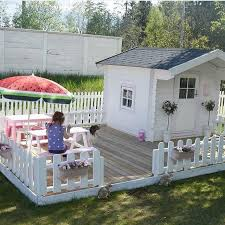 Backyard Clubhouse Plans by 232 Best Sheds Playhouses Images On Pinterest Gardening Kid