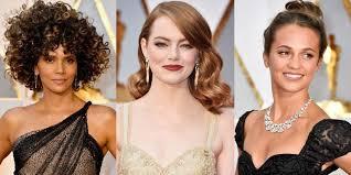 hair makeup oscars 2017 best beauty looks best academy awards carpet