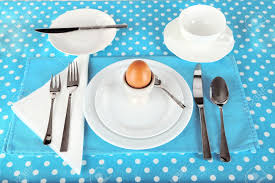 Correct Table Setting by Table Setting For Breakfast Stock Photo Picture And Royalty Free