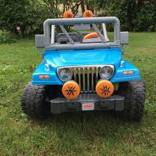 jeep power wheels for girls customizing our power wheels with spray paint the happy homester