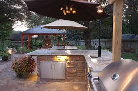 Outdoor Kitchen And Dining 4th Of July Bbq Havens C E Pontz Sons Landscape Contractors