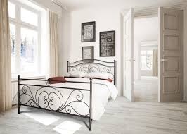 Schlafzimmer Mit Metallbett Metallbett Zamora Metallbettenshop