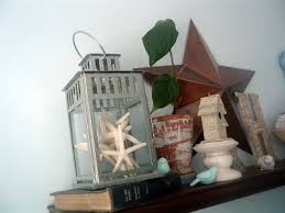 Lantern Decor Ideas Seashells Starfish And Lanterns Bring On Summer The Country