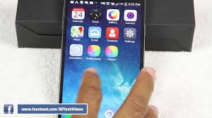 turn android into iphone how to turn an android phone into an iphone 6 h2techvideos