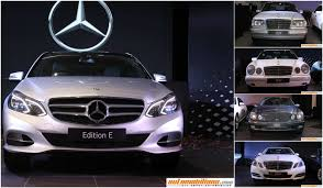 mercedes showroom interior automobilians com mercedes benz edition e launched in india at