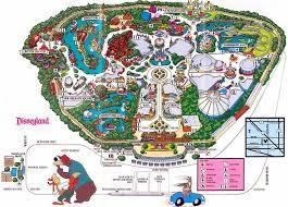 disneyland california adventure map 166 best theme park maps images on amusement park