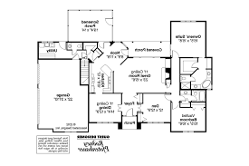 Floor Plan Of A Library by Georgian House Plans Ingraham 42 016 Associated Designs