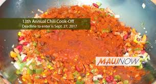 applications cuisine now applications available for 13th annual chili cook