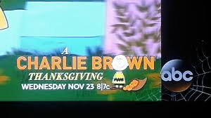 charlie brown thanksgiving dinner a charlie brown thanksgiving abc bug screen 2016 youtube