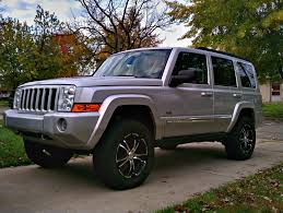 jeep commander lifted silver commanders jeep commander forums jeep commander forum
