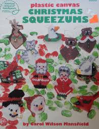 plastic canvas christmas squeezums patterns by carol wilson