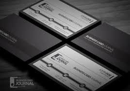 28 excellent black business cards to download free u0026 premium
