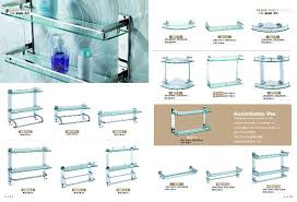 Bathroom Glass Shelves With Towel Bar Wire Rack Corner Bathroom Kitchen Shelf A2101 China Mainland
