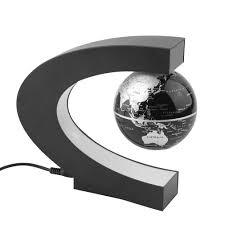 world globe home decor led floating globe world map tellurion c shape magnetic levitation