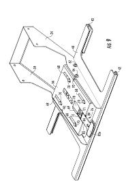 patent us8109527 medical cart and keyboard tray google patents