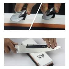 portable whetstone knife sharpening angle guide ceramic sharpening