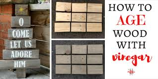 how to age wood for rustic wood signs you pinspire me