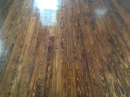 hardwood floors are complete now they cure for two weeks