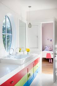 kid bathroom ideas 13 colorful ideas for bathrooms huffpost