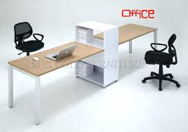 desk for two 2 person office desk 2 person home office desk outstanding 2