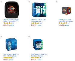1000 cpu at number 16 spot on amazon best seller this out from